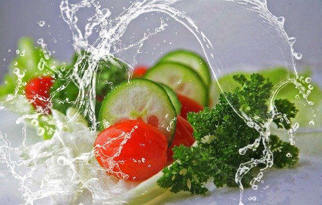 salat schleudern